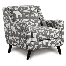 View Product - Doggie Accent Chair Graphite