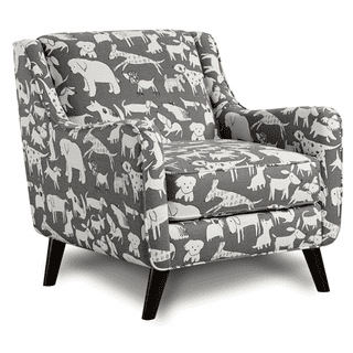 Doggie Accent Chair Graphite