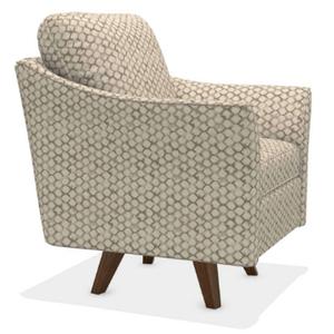 La-Z-Boy - Reegan High Leg Swivel Chair in Smoke      (210-460-E176453,45014)
