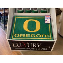 "University of Oregon rug 20"" x 30"""