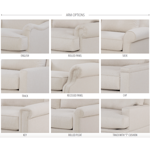 Signature Elements Custom Deeper Depth Long Sofa - Premier Collection