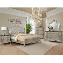 Angelina Kg Bed, Dresser, Mirror, Chest and Nightstand