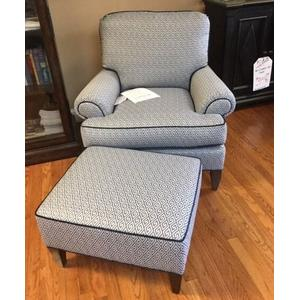 Sherrill Chair and Ottoman