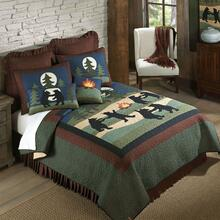 Bear Dance King Quilt Set