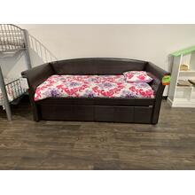 Coaster Daybed with Trundle and Mattresses