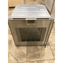 "200 series oven BO 251 611 Stainless steel-backed full glass door Width 24"" (60 cm) Left-hinged"