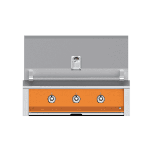 "Aspire By Hestan 36"" Built-In U-Burner and Sear Grill NG Citra Orange"