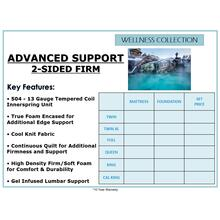 See Details - Advanced Support 2-Sided - Firm