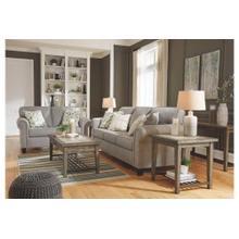 Ashley 989 Alandari Grey Sofa and Love