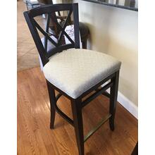 See Details - X Back Bar stool