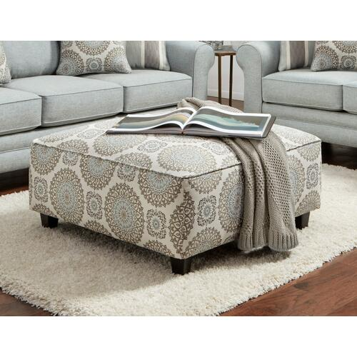 Brianne Twilight Cocktail Ottoman