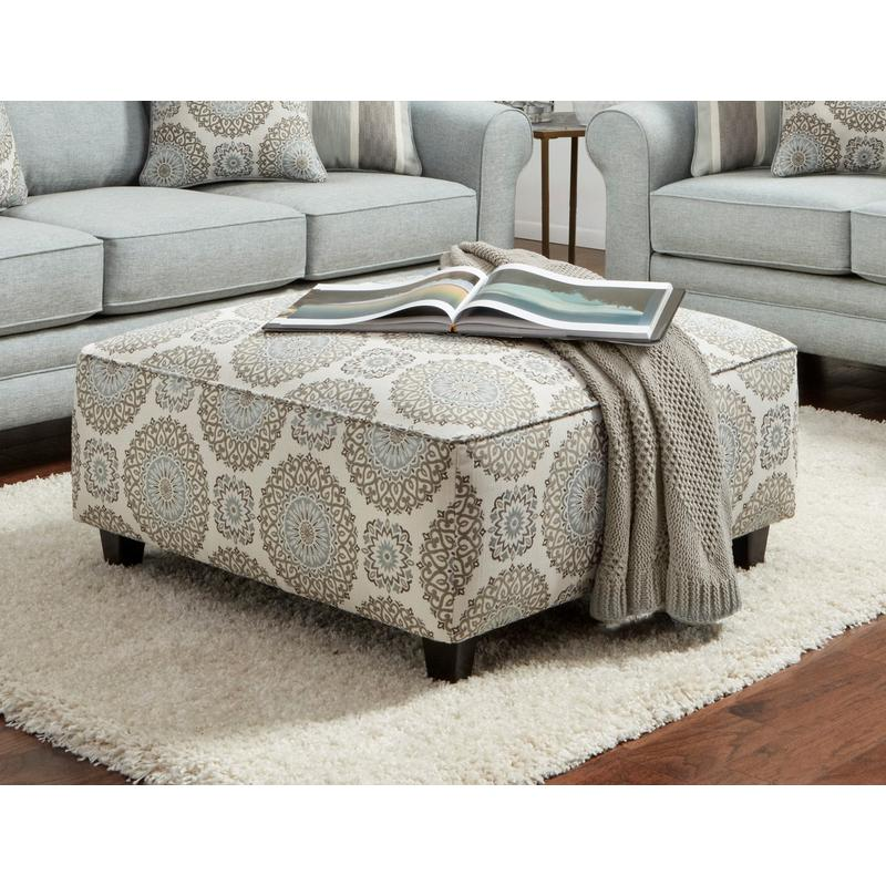 View Product - Brianne Twilight Cocktail Ottoman