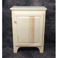 See Details - Maine Made 3 Foot Jelly Cabinet 26W X 36H X 14D Pine Unfinished