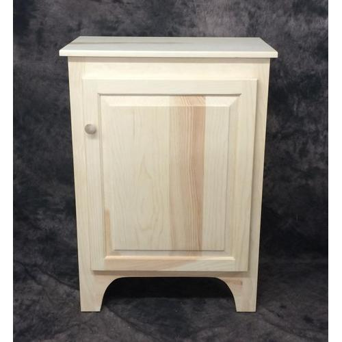 Gallery - Maine Made 3 Foot Jelly Cabinet 26W X 36H X 14D Pine Unfinished