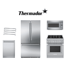 Thermador 4 Piece Kitchen Package. Price Valid Thru 9/30/20