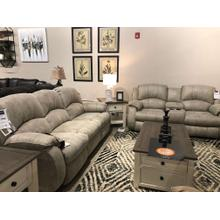 Cagney Power Sofa and Loveseat with Console Set