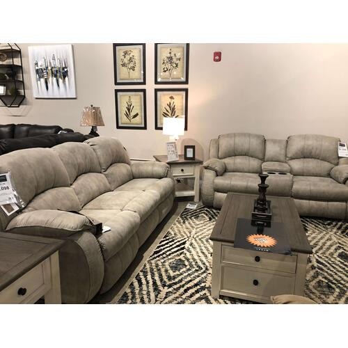 Southern Motion - Cagney Power Sofa and Loveseat with Console Set