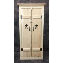 See Details - Maine Made Star Cabinet 24W X 56H X 15D Pine Unfinished