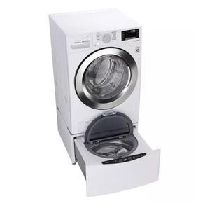 LG - 4.5 Cu. Ft. Smart Washer W/ Sidekick Pedestal Washer