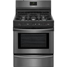 "30"" Black Stainless Steel Gas Range"