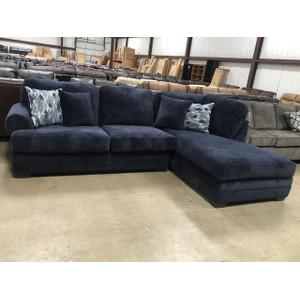 American Furniture Manufacturing - Comet Blue Sectional #7010CB