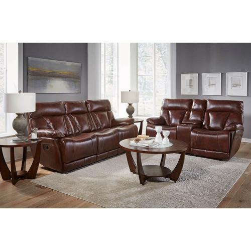 CORINTHIAN L94006-39HR-49HR-19HR Athens Brown Leather Power Reclining Sofa, Power Reclining Loveseat & Power Recliner Group
