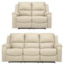 Rackingburg 2 Piece Set: Power Reclining Sofa and Loveseat