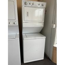 Kenmore 27 Inch Washer Dryer Combination Laundry Center (This may be a Stock Photo, actual unit (s) appearance may contain cosmetic blemishes. Please call store if you would like additional pictures). This unit carries our 6 Month warranty, MANUFACTURER WARRANTY and REBATE NOT VALID with this item. ISI 35924