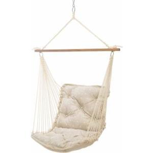 Hatteras Hammocks - Tufted Single Swing - Integrated Pewter