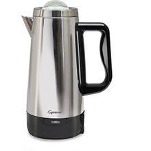 See Details - Capresso 12-Cup Perk Stainless Steel Coffee Maker