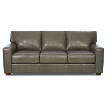 See Details - Putty All Leather Sofa