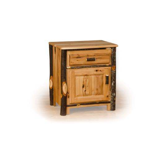 Brage Rustic Collection - Hickory Nightstand