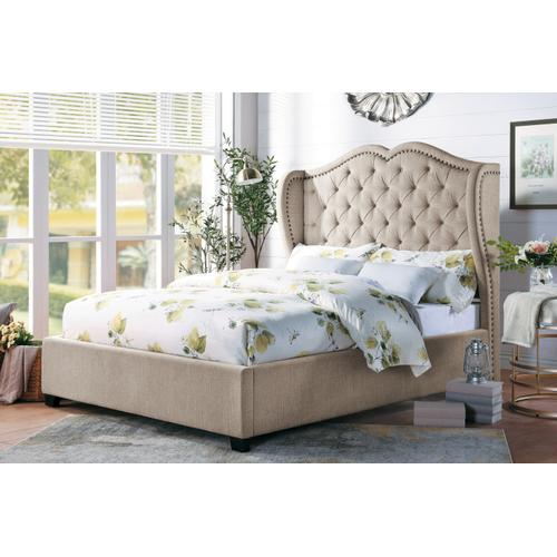Queen Bed Waterlyn Collection. Set 5 Pieces