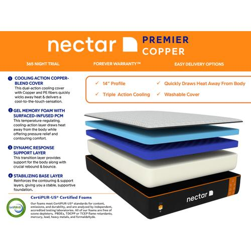 Nectar Premier Copper Mattress