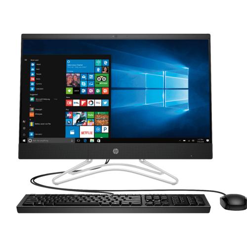 "HP - HP - 24DF0130M Black All-in-One Computer  23.8"", 8GB Memory, 1TB, 256GB SSD, AMD Ryzen 3250 Processor, Windows 10"