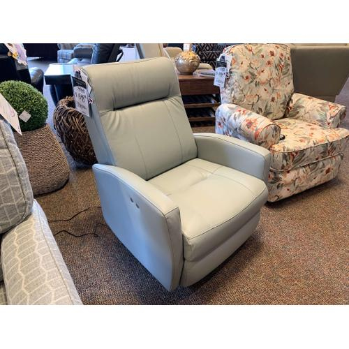 Arnold Dockside Leather Power Recliner