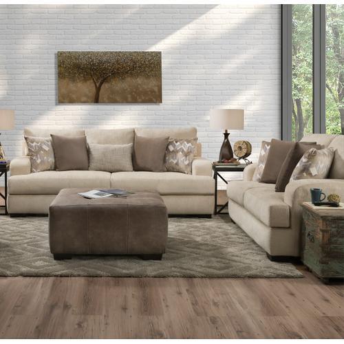 Corinthian Furniture - Rally Birch Sofa & Loveseat