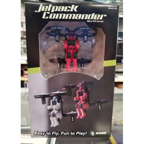 Jetpack Commander, easy to fly hover drone