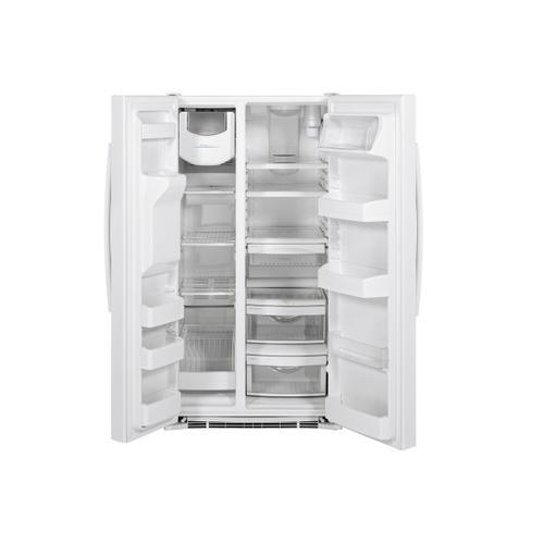 Crosley - CROSLEY - 25.3 Cu. Ft. Stainless Steel Side by Side Refrigerator