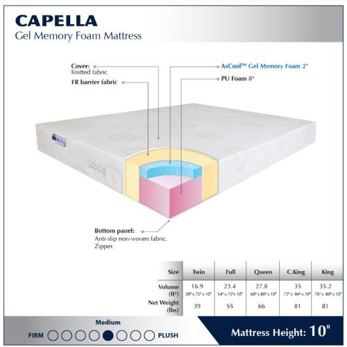 "Capella 10"" -  Medium"