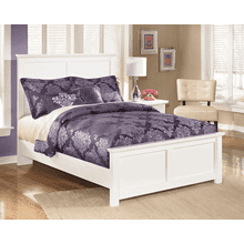 Bostwick Shoals- White- Full Panel Bed