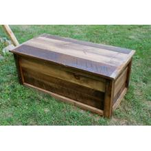 See Details - Relaimed Barnwood Lift Top Coffee Table