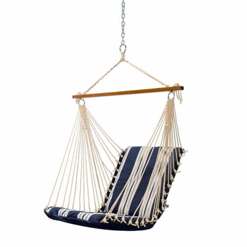 Cushioned Single Swing - Anchor Navy