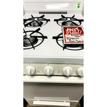 "USED- Hotpoint® 24"" Compact Gas Range G24WHSTV-U SERIAL #20"