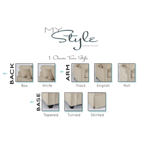 Premium Collection - MyStyle English Arm Sectional
