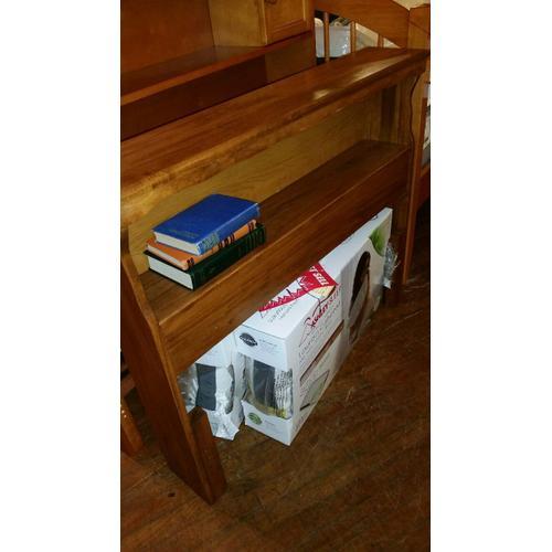 Woodcrest - Twin bookcase headboard
