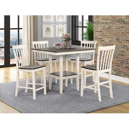 See Details - Brody - 5 PC Counter Height Table Set