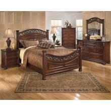Leahlyn - Queen Panel Bed, Dresser, Mirror, & 1 x Nightstand