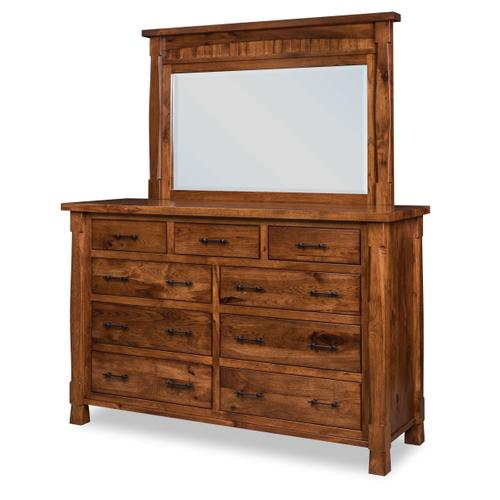 Shown in Rustic Hickory