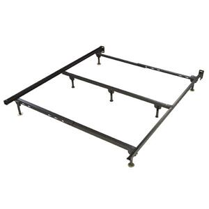 34G-7 Queen Metal Frame with Three Legs Center Support